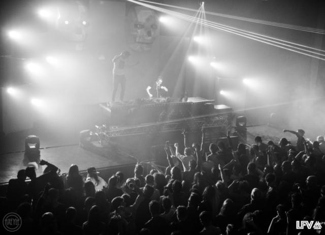 La scène lors de la 2ème édition de LFV Festival - Festival Hardstyle français