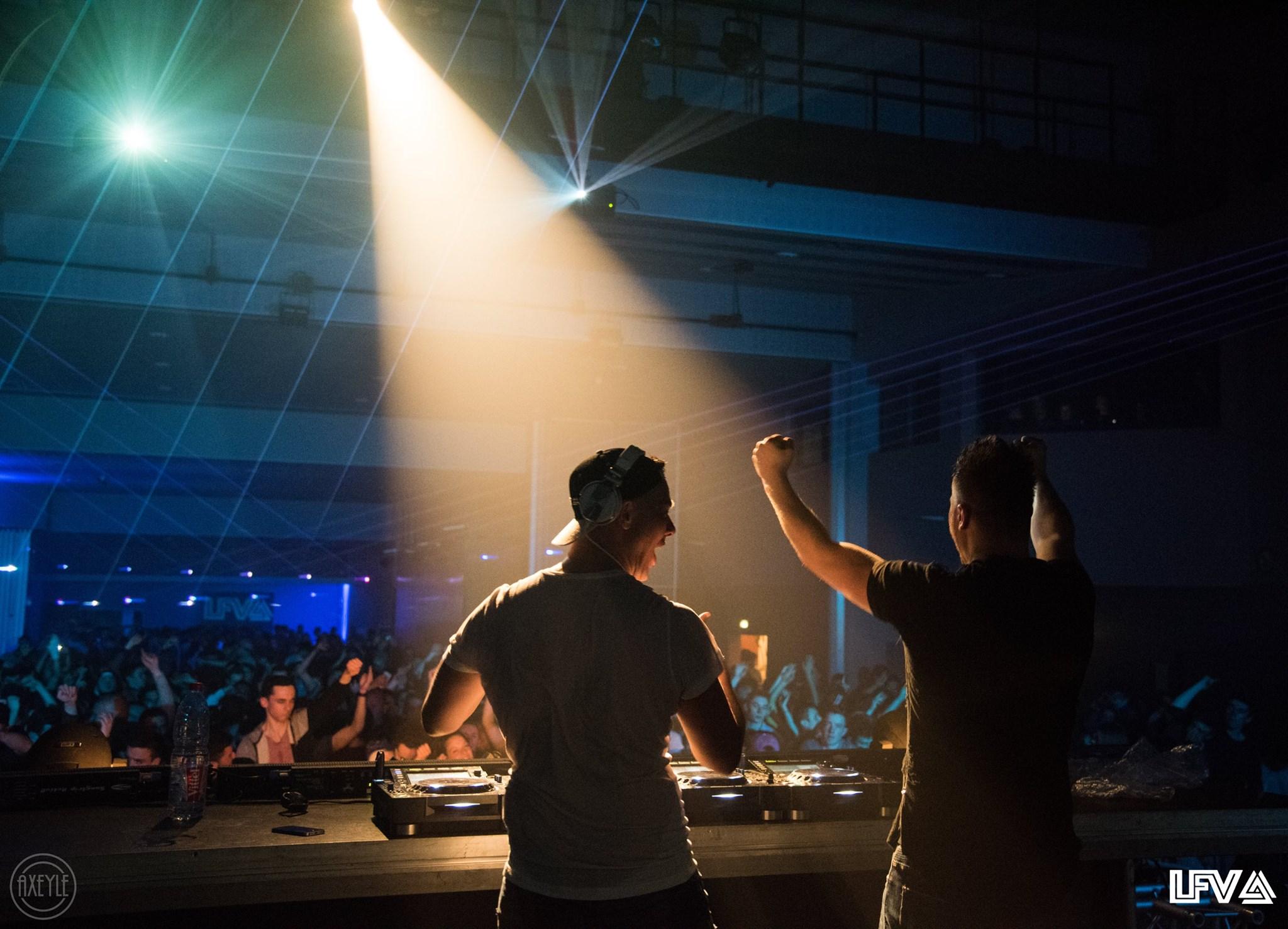 Les festivaliers lors de la 2ème édition de LFV Festival - Festival Hardstyle français