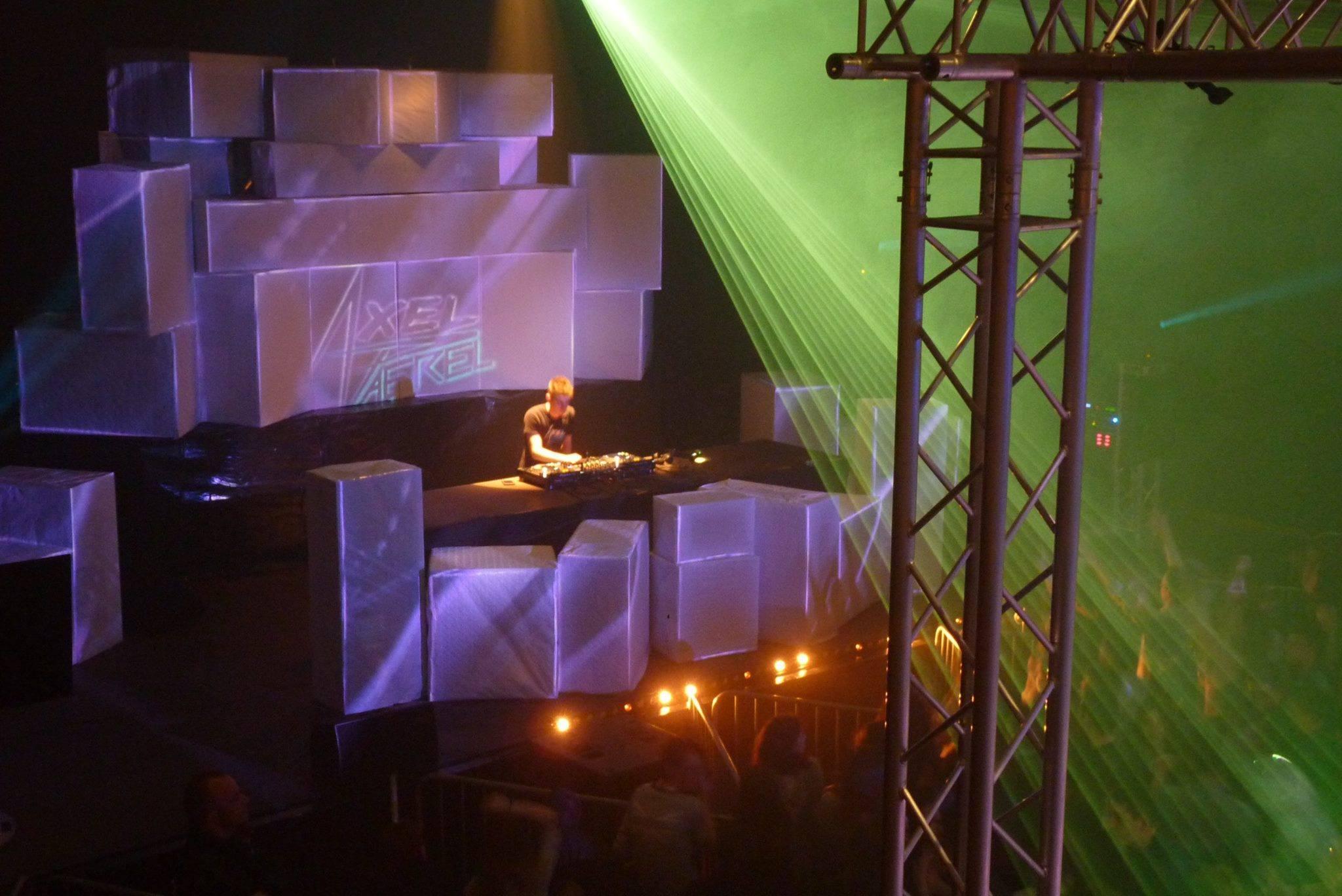 La scène de la 1ère édition de LFV Festival - Festival Hardstyle français