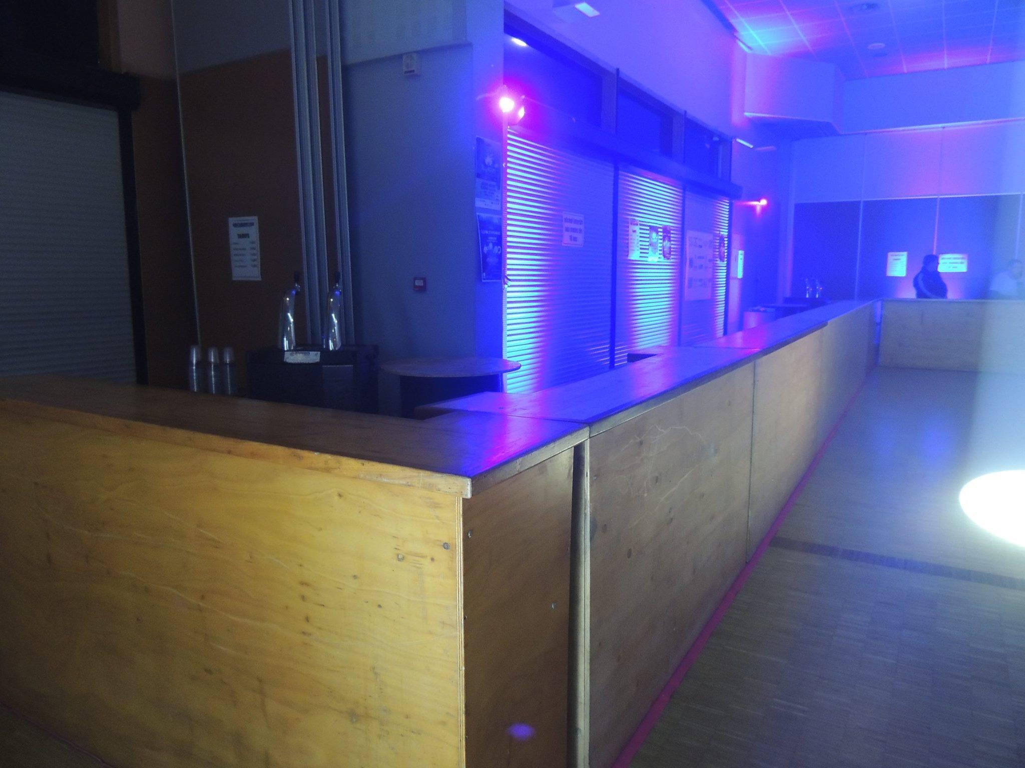 Le bar de la 1ère édition de LFV Festival - Festival Hardstyle français