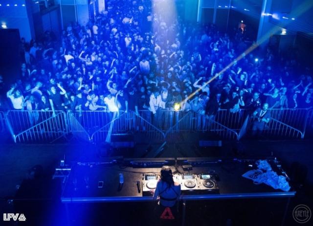 La salle lors de la 2ème édition de LFV Festival - Festival Hardstyle français