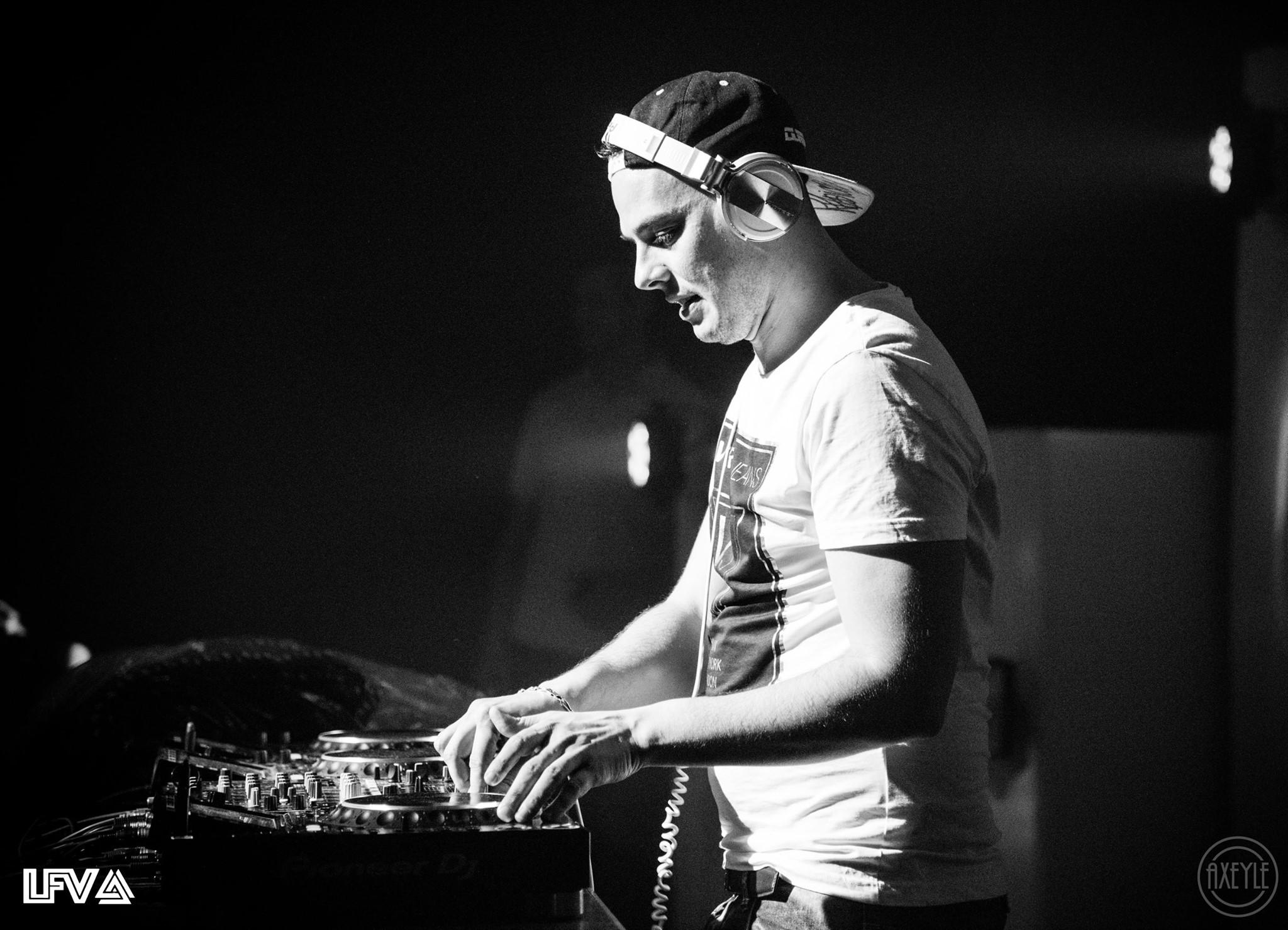 Les DJ lors de la 2ème édition de LFV Festival - Festival Hardstyle français