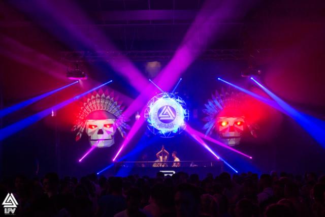 La scène lors de la 3ème édition de LFV Festival - Festival Hardstyle français